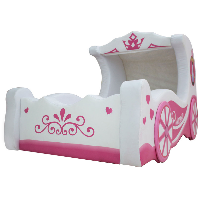 Cama infantil cinderella cama carro - Cama coche infantil ...