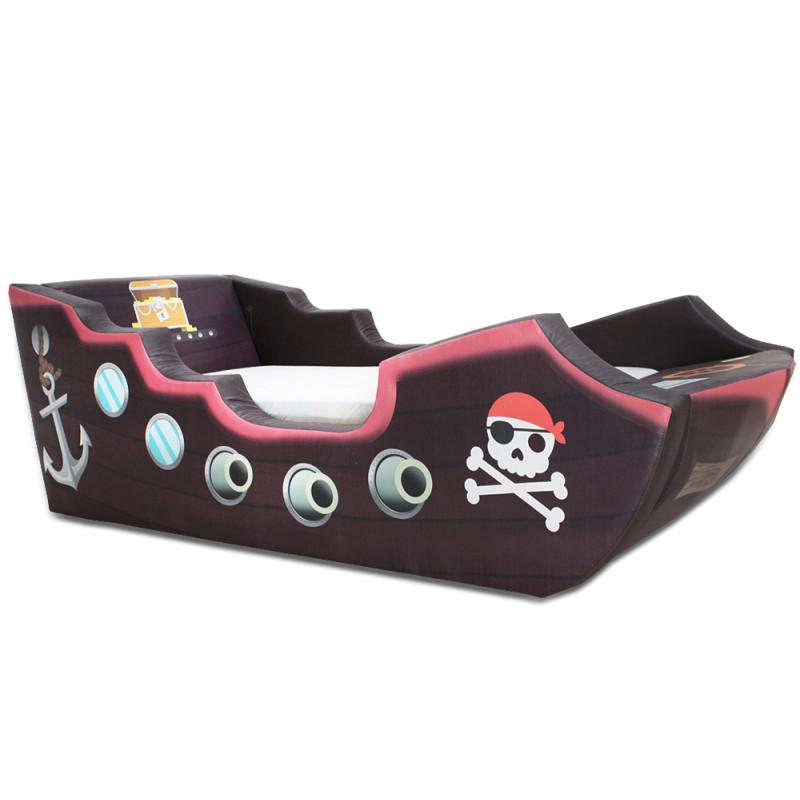 Cama infantil pirata cama carro - Cama coche infantil ...