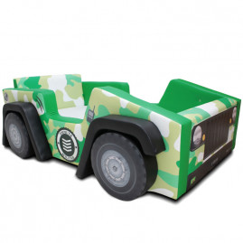 Cama Infantil Jeep Exército - Cama Carro